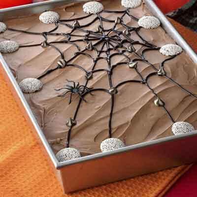 Spider Web Cake Image