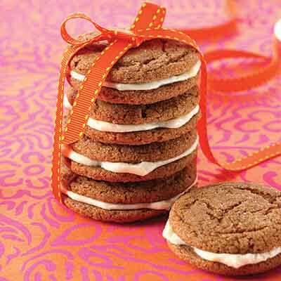 Molasses Sandwich Cookies Recipe