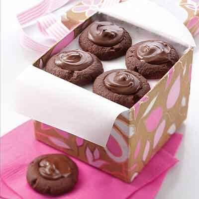 Double Chocolate Thumbprints Image