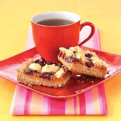 Apricot Cherry Crumble Bars Image