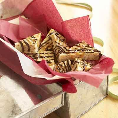 Chocolate & Caramel Drizzled Bars Image
