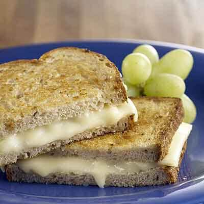 Hearty Grilled Cheese Sandwich Image