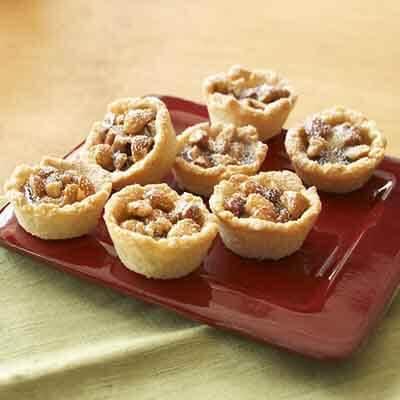 Chocolate Nut Tartlets Image