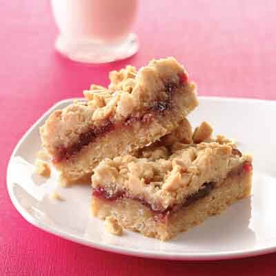 Peanut Butter & Jelly Bars Image
