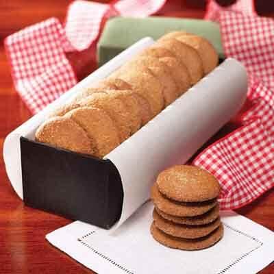 Molasses Ginger Cookies Recipe