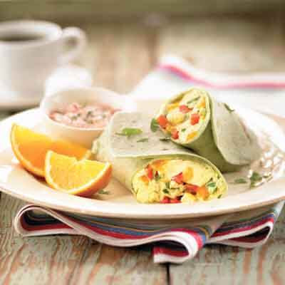 Breakfast Scramble Wraps Image