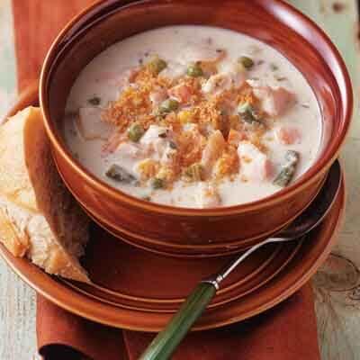 Slow Cooker Chicken Chowder Recipe