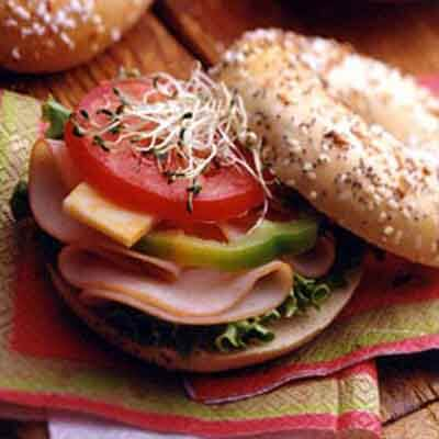Summertime Bagelwich Image