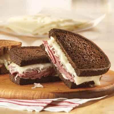 Slimmer Reuben Sandwich Image
