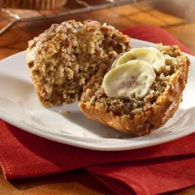 Banana Honey Muffins Image