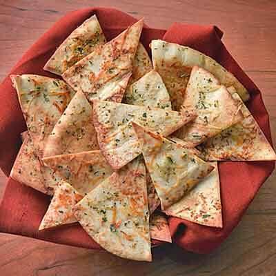 Seasoned Butter Pita Chips Image