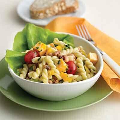 Black-Eyed Pea & Pasta Salad Image