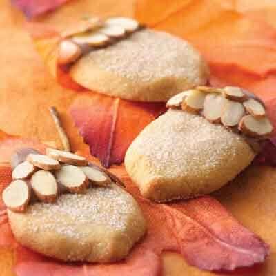 Chocolate-Topped Maple Acorns Image