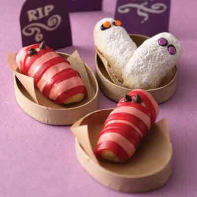 Coconut Halloween Mummy Cookies Recipe