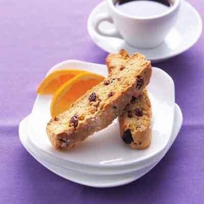 Cranberry Orange & Blueberry Biscotti Image