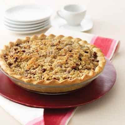 Pear & Raspberry Streusel Pie Image