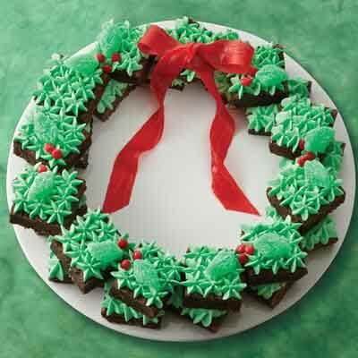 Mint Brownie Wreath Image