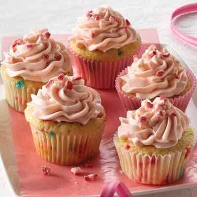 Peppermint Crunch Cupcake Recipe