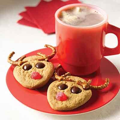 Slice and Bake Rudolph Christmas Cookies Recipe