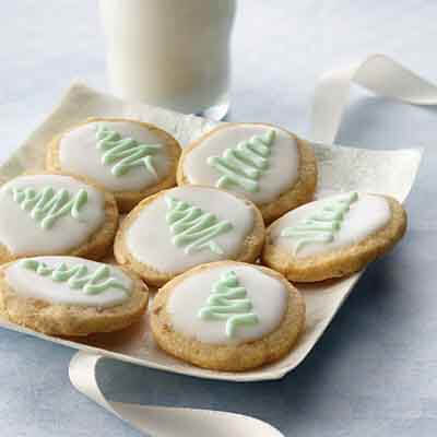 Spiced Ginger Shortbread Rounds Image