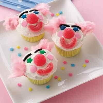 Clown Cupcake Recipes