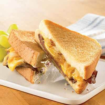 American & Blue Cheese Beef Melt Image