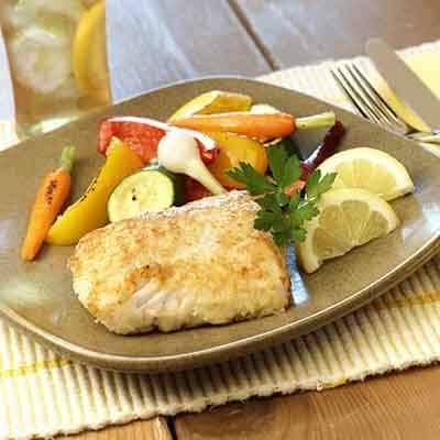 Crispy Baked Fish Image