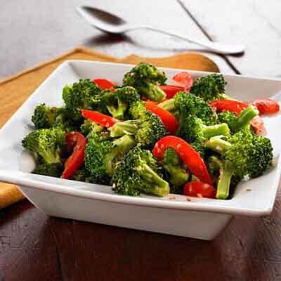 Broccoli Bell Pepper Sauté Image
