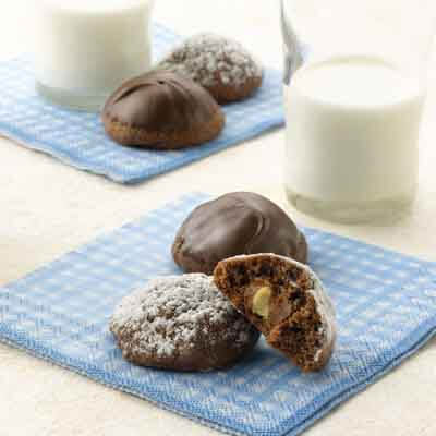 Double Chocolate-Covered Peanut Cookies Image