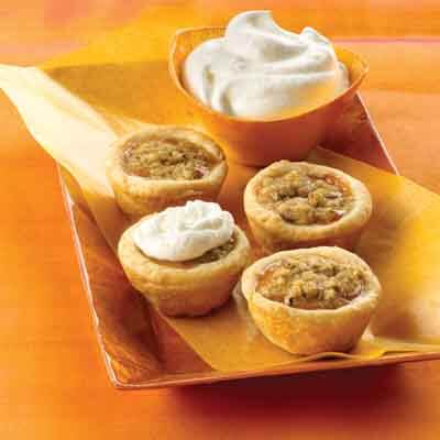 Mini Pumpkin Tarts (Gluten-Free Recipe) Image