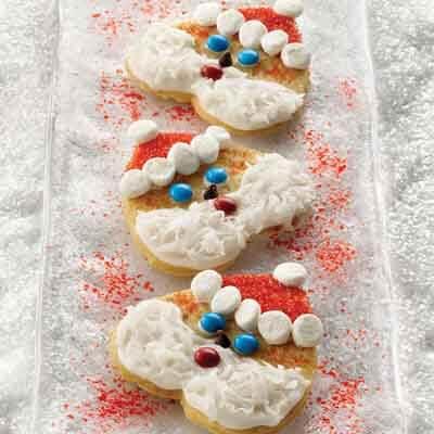 Simple Santa Cut-Outs Image