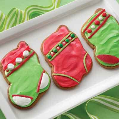 Gingerbread Christmas Stockings Image
