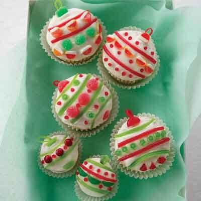 Holiday Ornament Cupcake Recipe