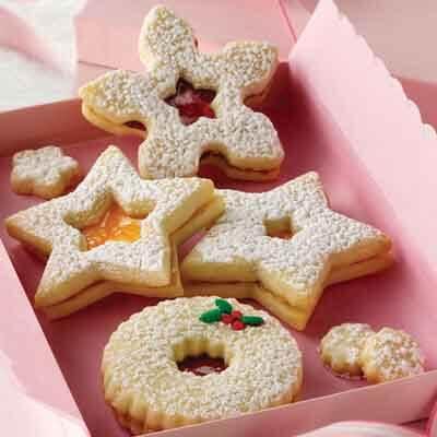 Linzer Sandwich Cookies Recipe