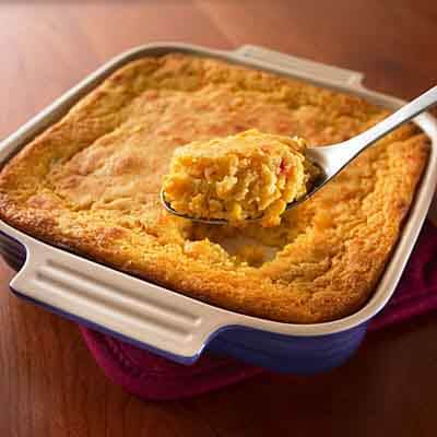Sour Cream Corn Spoon Bread Image