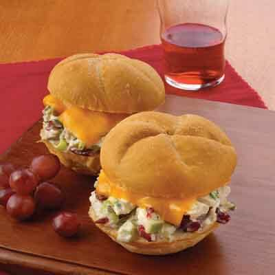 Cranberry Apple Chicken Sandwiches Image