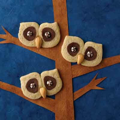 Owl Halloween Sugar Cookies Recipe