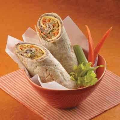 Beef & Chutney Rice Wraps Image