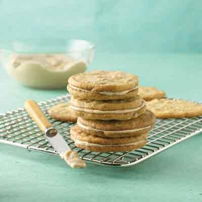 Black Walnut Sandwich Cookies Recipe