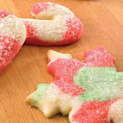 Swirled Christmas Cut-Outs Image
