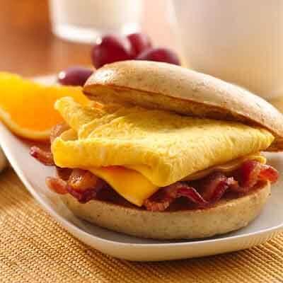 Bacon & Egg Sandwich Image
