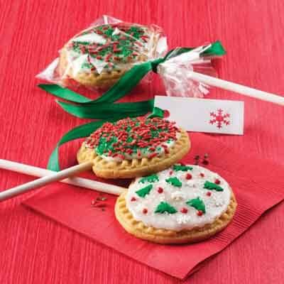 Christmas Lillipop Cookies Recipe
