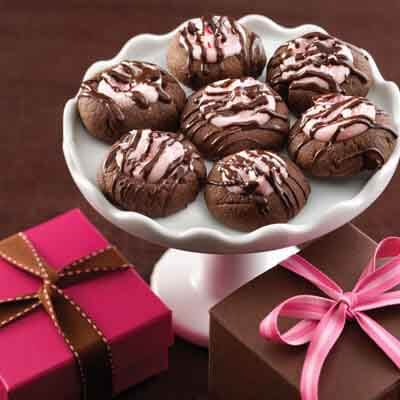 Chocolate Peppermint Thumbprints Image