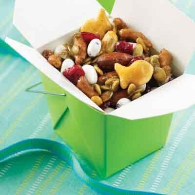 Sweet & Salty Christmas Snack Mix Image