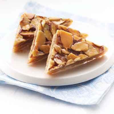 Cinnamon Honey Almond Triangles Image