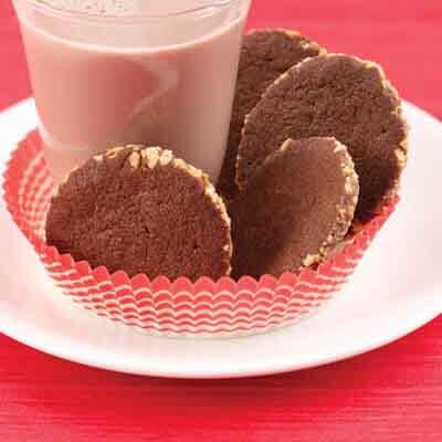 Chocolate Peanut Crisps Image