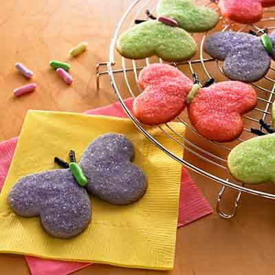 Spring Butterfly Sugar Cookies Recipe