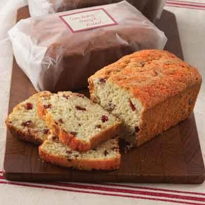 Cranberry Orange Loaves Image