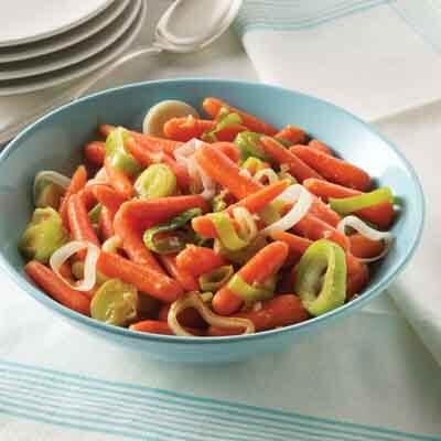 Honey Gingered Carrots & Leeks Image