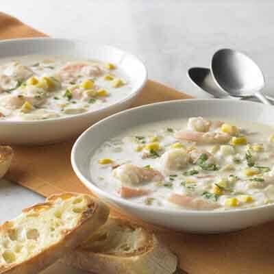 Shrimp, Corn & Chile Chowder   Image